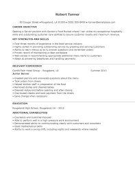 doc 600763 server resumes bizdoska com resume help food server