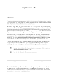 rescind offer letter sample apology letter  rescind