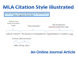 Purdue OWL Madisonville Community College MLA Citation Practice Bibliography and In Text Citations