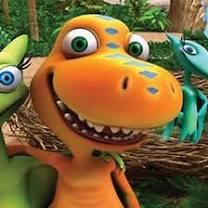 Dinosaurietåget   <b>Barnkanalen</b>