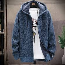 <b>1808</b>-<b>DL304 Men</b> Cardigan Sweater Light Gray L Cardigans ...