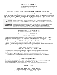 building maintenance resumes template building maintenance resumes