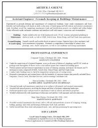 building maintenance resumes template building maintenance resumes