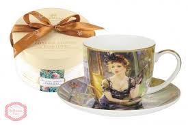 Купить <b>Чайная пара</b> Lady at the table <b>Carmani</b> в каталоге ...