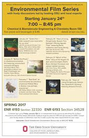 environmental film series spring click box for details about film series is and open to the general public no registration needed