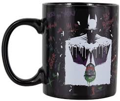 <b>Кружка</b> - характеристики PALADONE <b>Batman and The</b> Joker Heat ...