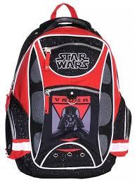 Купить <b>Школьный рюкзак Erich</b> Krause Star Wars красный по ...