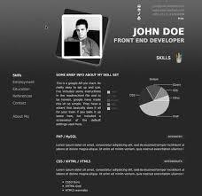 top  professional online cv  amp  resume templates   web development    procv   professional online resume
