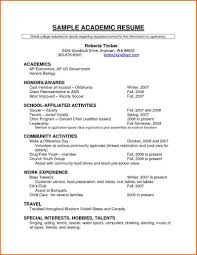 5 cv template for scholarship event planning template academic resume templates resume templates