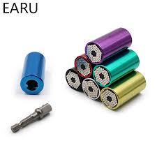 <b>Universal Torque Wrench</b> Head Sleve 7-19mm Power Drill <b>Ratchet</b> ...