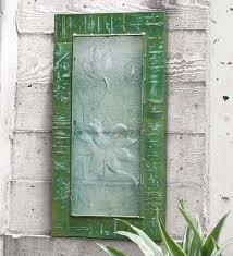 Recycled Glass <b>Lotus Flower Wall</b> Art   VivaTerra