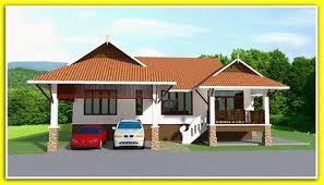 Thai style house plans   Blueprint only   bahtthai style house plans BP