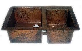 hammered copper kitchen sink: doubl bowl copper kitchen sink ckum undermount copper kitchensink doublebowl