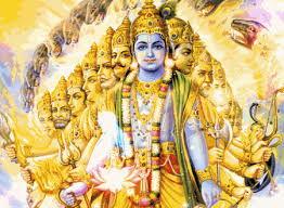 Image result for bhagavan viswaroopa darisanam