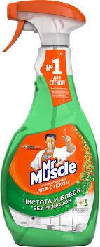 "<b>Чистящее средство</b> для стекол ""<b>Мистер Мускул</b>"", с нашатырным ..."