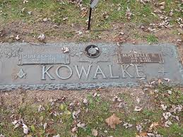 belle r kowalke a grave memorial belle r kowalke