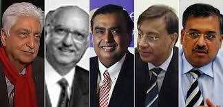 Top 5 Richest Indians Have Half of Nations Billionaire Wealth: Report