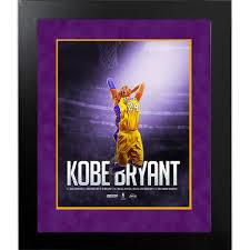 kobe bryant dunk career accomplishments x framed collage kobe bryant dunk career accomplishments 16x20 framed collage