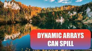 Excel <b>2019</b>: <b>Dynamic</b> Arrays Can Spill - Excel Tips - MrExcel ...