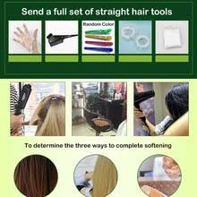 Набор для <b>выпрямления волос</b> QRD88, Расслабляющий <b>Крем</b> ...