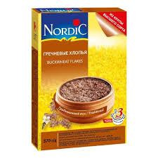 <b>Хлопья Nordic</b> (Нордик) <b>гречневые</b>, <b>370</b> гр. — купить в интернет ...