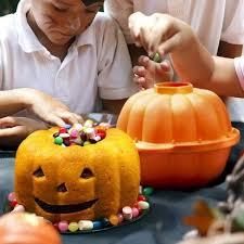 Bakeware <b>Halloween</b> 3D Pumpkin <b>Silicone Cake</b> Mould