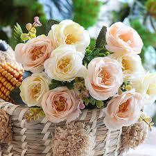 <b>Искусственные</b> розы <b>розовые</b> маленькие шелковые ...