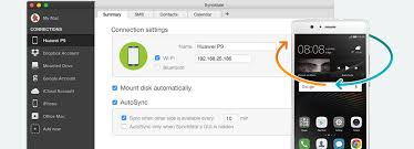 Huawei sync Mac: synchronize Huawei and Mac using SyncMate