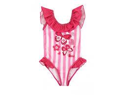 <b>Купальник для девочки Reike</b> Butterflies розовый, р.98-52(26 ...
