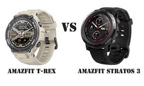 <b>Amazfit T</b>-<b>Rex</b> VS Amazfit Stratos 3: How to Choose? | GearBest Blog