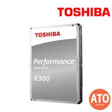 <b>TOSHIBA X300</b> HDD 3.5-INCH (7200/128MB) <b>10TB</b> SATA FOR ...