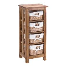 size bathroom wicker storage:  best wicker bathroom storage stunning mahogany wooden  shelves and storage four rattan baskets as drawers