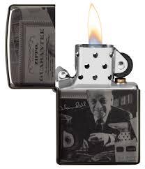<b>Зажигалка Zippo George Blaisdell</b> с покрытием Black Ice® 49134 ...