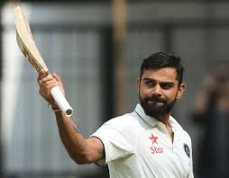 virat kohli rises to career best rd spot in icc test rankings files this file photo taken on 9 2016 shows n batsman and