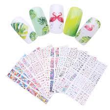 <b>12Pcs Nail Sticker</b> Dreamcatcher <b>Water Decal</b> Colorful Rose Flower ...