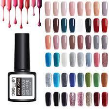 8ml <b>LEMOOC Nail</b> UV <b>Gel</b> Polish Soak off <b>Nail</b> Art Pure Tips Glitter ...