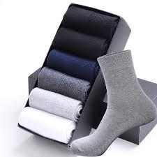 High Quality <b>Casual Men's</b> Business <b>Socks</b> For <b>Men</b> Cotton Brand ...