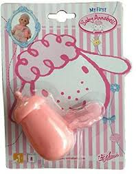 Generic <b>Zapf Creation My First</b> Baby Annabell Dummy & Bottle ...