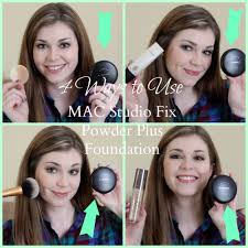 4 ways to use mac studio fix powder plus foundation