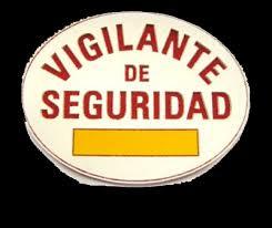 Resultado de imagen de placas vigilante jurado