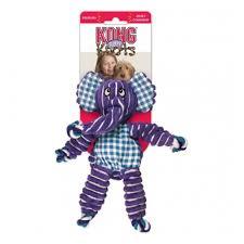 <b>Игрушка</b> для собак <b>KONG Floppy</b> Knots Слон большой 36х19 см ...