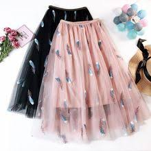 Tulle Mesh plus size skirts steampunk korean kawaii skirt <b>women</b> ...
