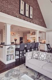 Living Room And Kitchen 17 Best Ideas About Kitchen Living Rooms On Pinterest Small Home