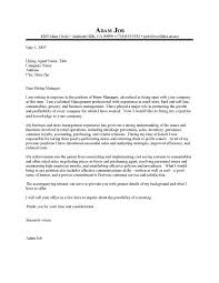 Cover Letter Sample within Executive Director Cover Letter   My     SlideShare