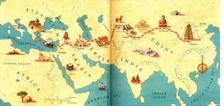 The Silk Road is an overland caravan route that linked Xian in central China with the eastern Mediterranean. It was established during the period of Roman rule in Europe and took its name from the silk that was brought to the west from China.