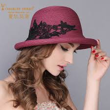 <b>Charles Perra Sun Hats</b> Female Elegant Fashion Straw Hat New ...