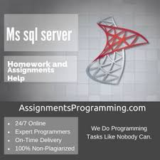 Ms sql server Programming Assignment Help  amp  Ms sql server     Programming Assignment Help Ms sql server Assignment Help
