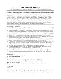 resume templates technical skills cipanewsletter skill resume sample junior technical writer resume technical