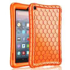 Fintie <b>Silicone Case</b> for All-New Amazon Fire 7 <b>Tablet</b> (9th ...
