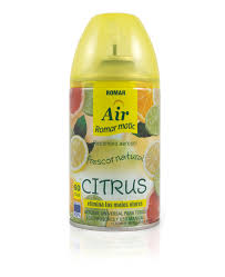 Citrus <b>Automatic Air Freshener Spray</b> Refill - Quimi Romar